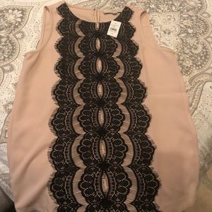 The Loft NWT pretty sleeveless shirt
